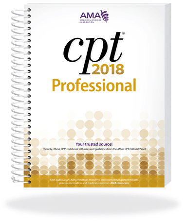 CPT Professional 2018 Spiral Edition